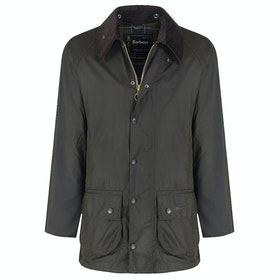 Barbour Classic Beaufort Sylkoil Wax Jacket - Olive