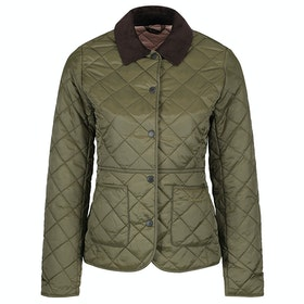Barbour Deveron Quilt Ladies Jacket - Olive