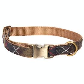 Barbour Tartan Web Dog Collar - Classic Tartan