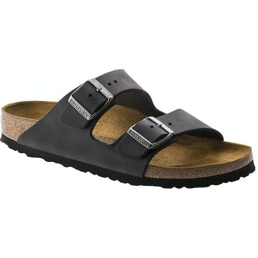 Birkenstock Arizona Oiled Leather Narrow Sandals