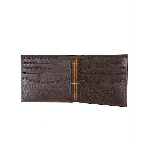 Barbour Peterlee Leather Billfold Men's Wallet