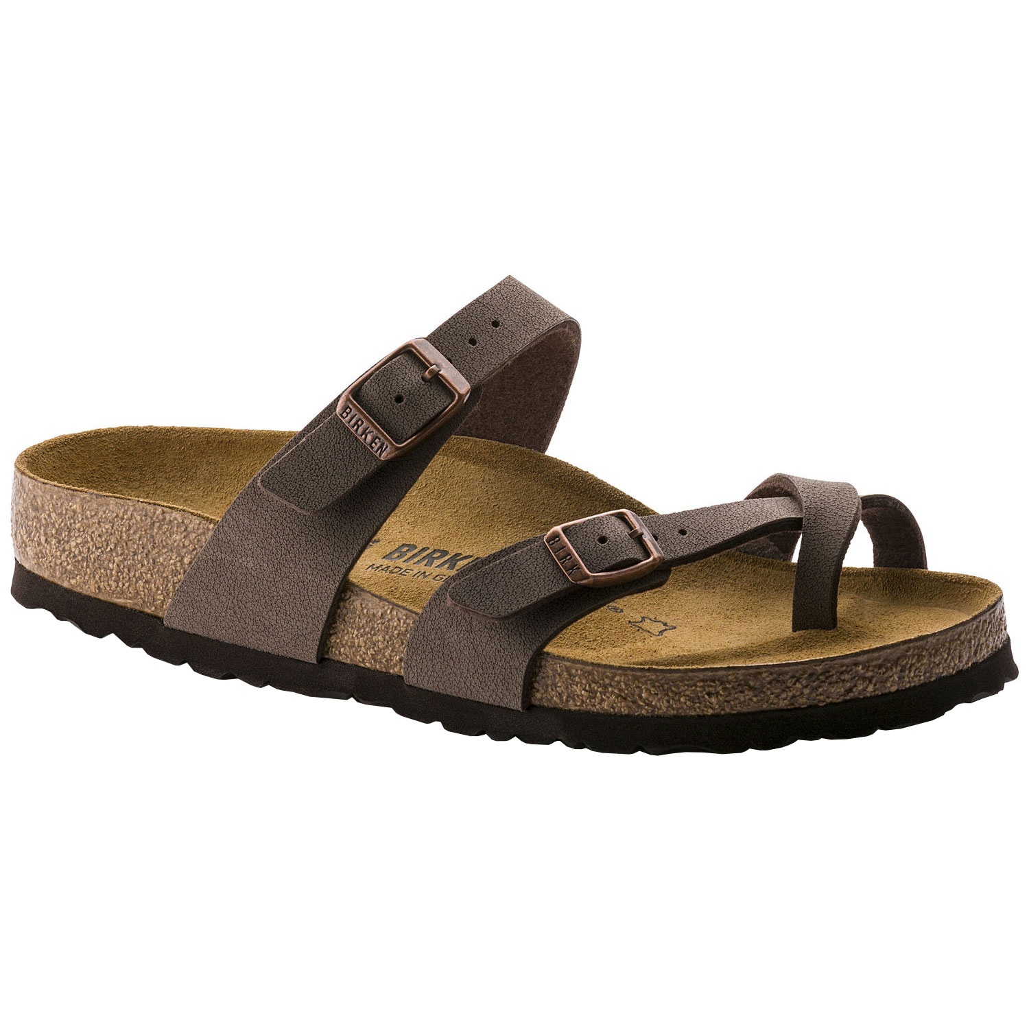 Birkenstock Mayari Flip Flop Sandals All Sizes and Colours Mocca 071061 36