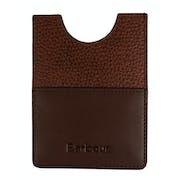 Barbour Leather Passport Cover Men's Document Holder