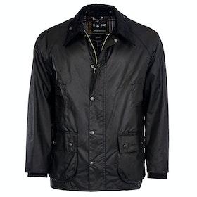 Barbour Bedale Mens Wax Jacket - Black