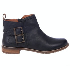 Barbour Sarah Low Buckle Ladies Boots - Black