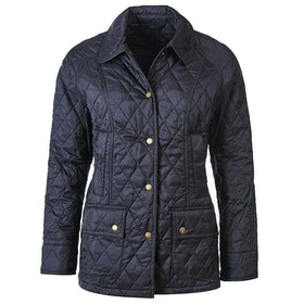Barbour Summer Quilted Beadnell Ladies Jacket - Navy