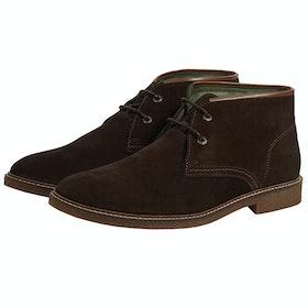 Barbour Kalahari Boots - Choc Suede