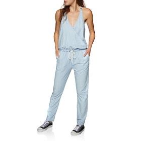 Roxy Pretty Romper Womens Jumpsuit - Light Blue