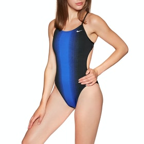 Maillot de Bain Femme Nike Swim Fade Sting Cut Out - Game Royal