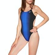 Nike Swim Fade Sting Cut Out Womens Swimsuit
