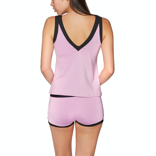 Nike Swim Sport Mesh High Neck Womens Tankini Top