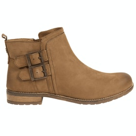 Barbour Sarah Low Buckle Ladies Boots - Cognac