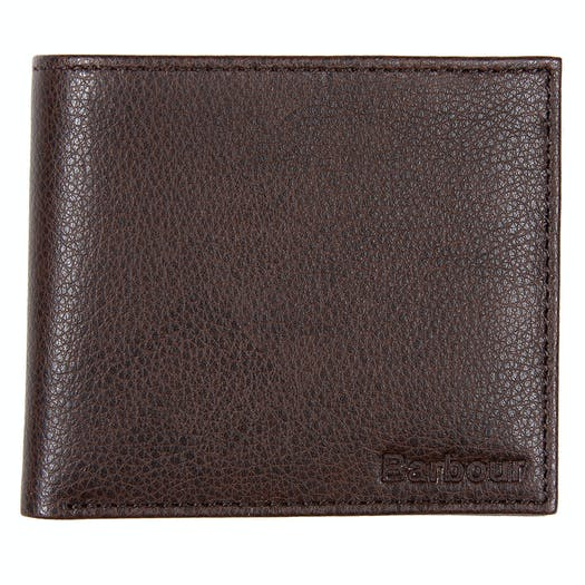 Barbour Peterlee Leather Billfold Wallet