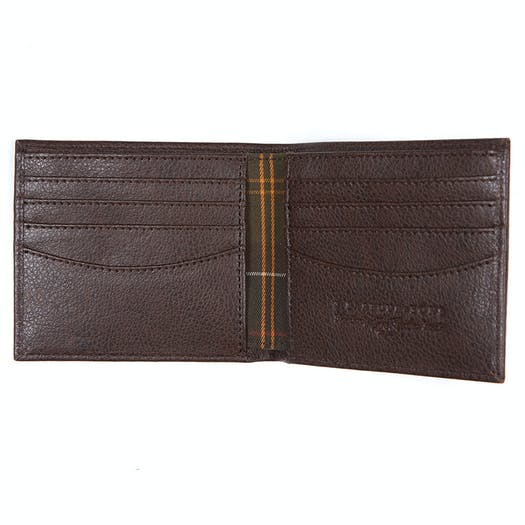 Barbour Peterlee Leather Billfold Brieftasche