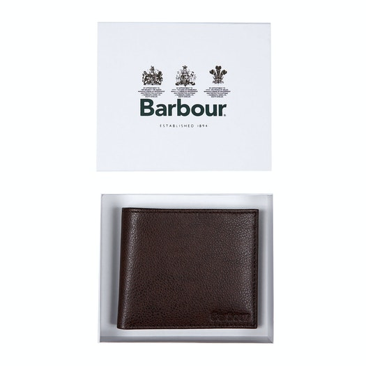Portefeuille Barbour Peterlee Leather Billfold