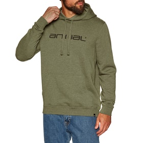 Animal Driver Pullover Hoody - Olive Marl