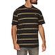 Globe Too Fast Stripe Short Sleeve T-Shirt