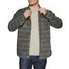 Camisa Vissla Fade Out Flannel - Phantom