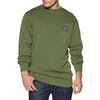 Vissla Solid Sets Crew Pullover - Army