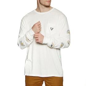 Vissla Sun Dazer Long Sleeve T-Shirt - Vintage White