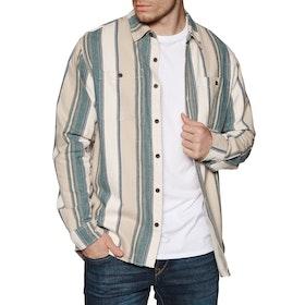 Katin Kramer Flannel Shirt - Lt. Grey