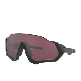 Oakley Flight Jacket Sunglasses - Matte Black ~ Prizm Road Black