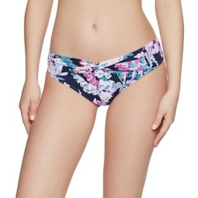 Joules Belle Bikini Bottoms - Navy Floral