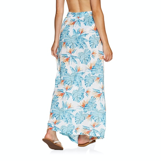 Roxy Free As Waves Maxi Wrap Skirt