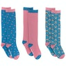 Derby House Bamboo Cotton Frenchie Pack of 3 Childrens Socks
