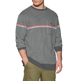 Vissla Park Pocket Crew Sweater - Phantom