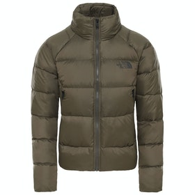 North Face Crop 550 Ladies Down Jacket - New Taupe Green