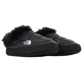 North Face Thermoball Tent Mule Faux Fur V Slippers - TNF Black TNF White