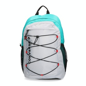 Converse Swap Out Backpack - Wolf Grey Turbo Green Enamel Red