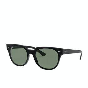 Ray-Ban Blaze Meteor Sunglasses - Black ~ Green