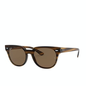 Ray-Ban Blaze Meteor Sunglasses - Havana ~ Dark Brown Classic