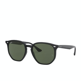 Ray-Ban 0rb4306 Sunglasses - Black ~ Green