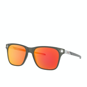 Oakley Apparition Sunglasses - Satin Black Ink ~ Prizm Ruby