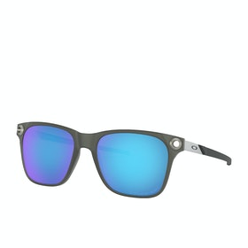 Oakley Apparition Sunglasses - Satin Black Ink ~ Sapphire Iridium Polarized