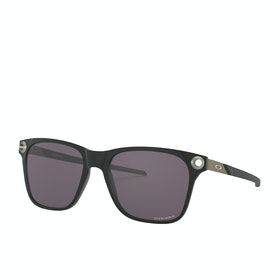 Oakley Apparition Sunglasses - Satin Black ~ Prizm Grey