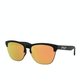 Oakley Frogskins Lite Sunglasses - Matte Black ~ Prizm Rose Gold