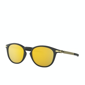 Gafas de sol Oakley Pitchman R - Satin Black ~ Prizm 24k Polarized