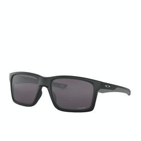 Oakley Mainlink XL Sunglasses - Matte Black ~ Prizm Grey