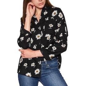 RVCA Hera Womens Shirt - Black