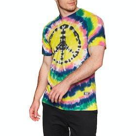 T-Shirt à Manche Courte Grizzly Home Grown - Peace