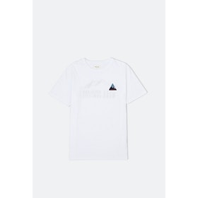 T-Shirt a Manica Corta WOOD WOOD Hill - Bright White