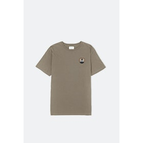 WOOD WOOD Patc S S T-Shirt - Taupe
