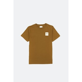 WOOD WOOD Ww Box S S T-Shirt - Mustard
