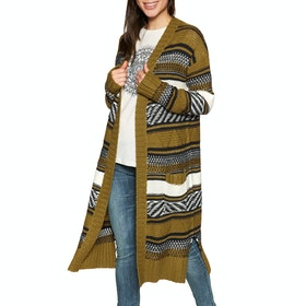Animal Lyla Knitted Womens Cardigan - Breen Green
