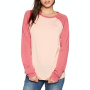 T-Shirt de Manga Comprida Senhora Animal Urban Raglan