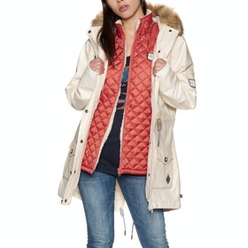 Veste Femme Animal Viva Winta 3 In 1 Parka - Coconut Cream